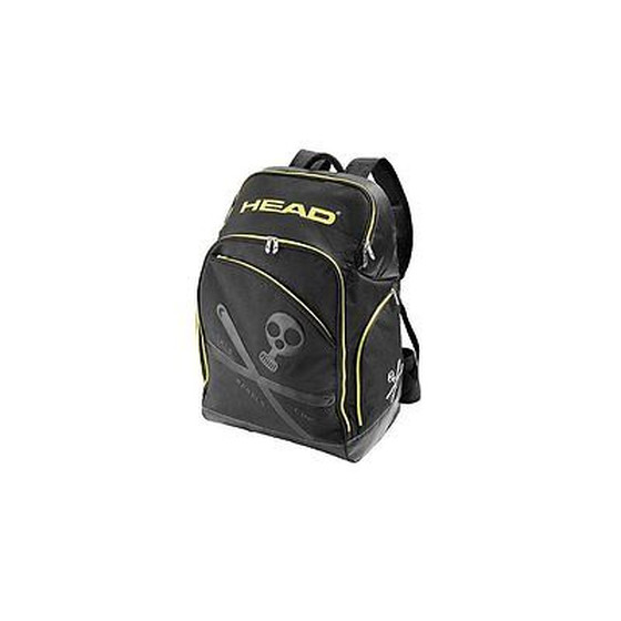 HEAD Rucksack REBELS RACING BACKPACK Black/Neon Yellow 383554