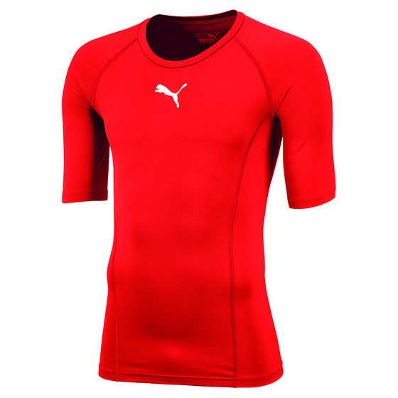 LIGA Baselayer Tee SS - red