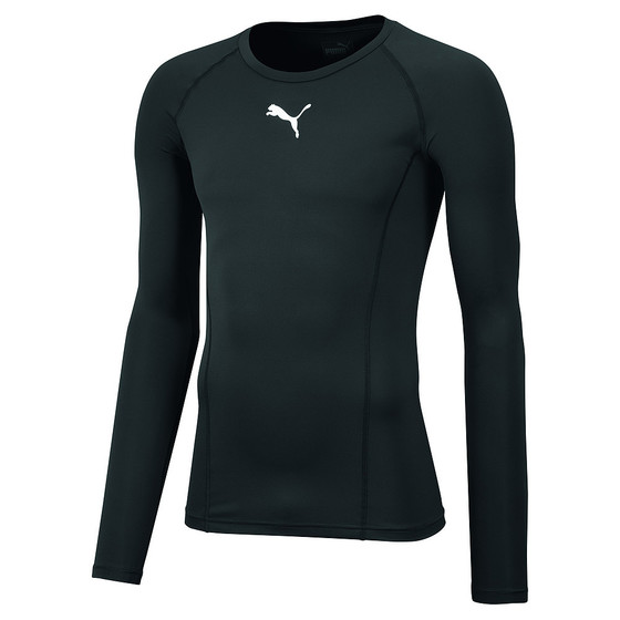 LIGA Baselayer Tee LS - black