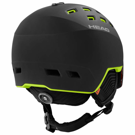 HEAD Skihelm RADAR black/lime